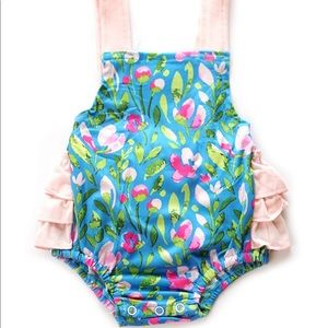 Baby romper lil Charo's boutique